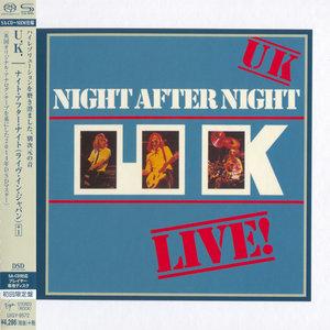 U.K. - Night After Night (1979) [Japanese Limited SHM-SACD 2014] PS3 ISO + Hi-Res FLAC