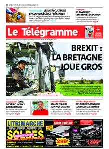 Le Télégramme Ouest Cornouaille – 31 janvier 2020