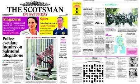 The Scotsman – September 15, 2018