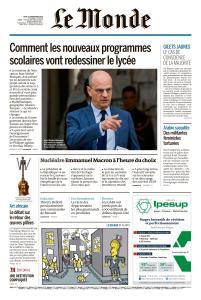 Le Monde du Jeudi 22 Novembre 2018