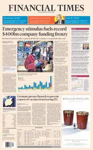 Financial Times Asia - January 27, 2021