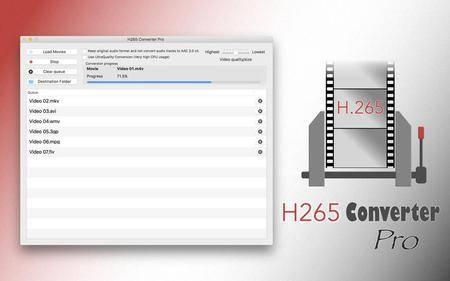 H265 Converter Pro 1.6 Mac OS X