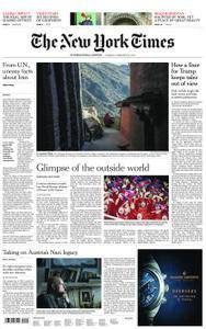 International New York Times - 20 February 2018