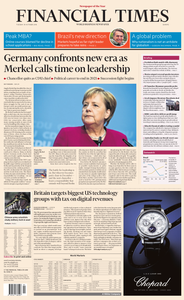 Financial Times Europe – 30 October 2018