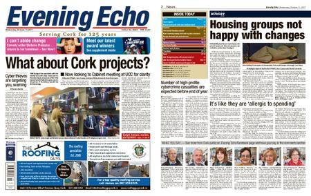 Evening Echo – October 11, 2017