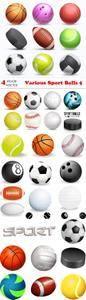 Vectors - Various Sport Balls 5