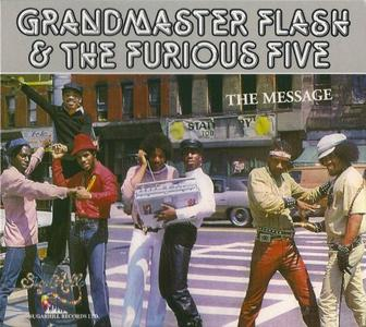 Grandmaster Flash & The Furious Five - The Message (1982) {Castle Records}
