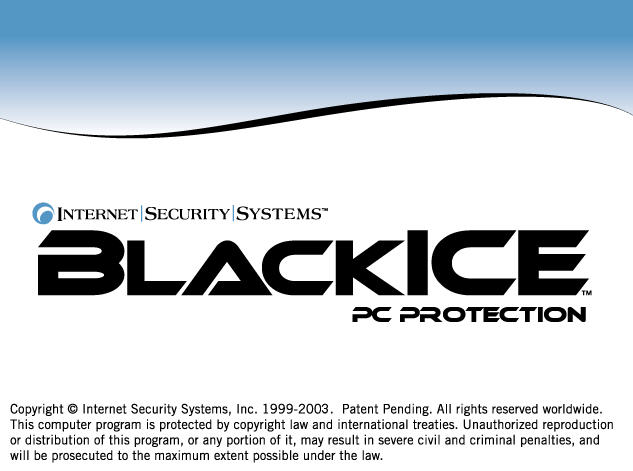 ISS Blackice PC Protection ver. 3.6