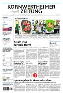 Kornwestheimer Zeitung - 23. Dezember 2017