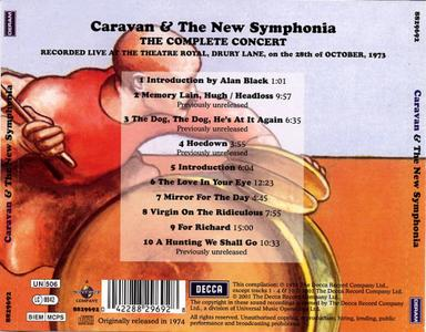 Caravan & the New Symphonia [LIVE] [ORIGINAL RECORDING REMASTERED]