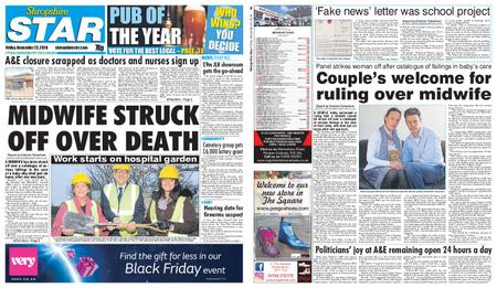 Shropshire Star Shrewsbury Edition – November 23, 2018