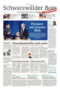 Schwarzwälder Bote Hechingen - 26. April 2019