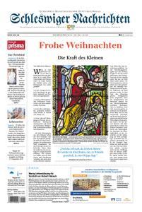 Schleswiger Nachrichten - 24. Dezember 2019