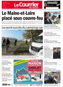Le Courrier de l'Ouest Angers – 23 octobre 2020
