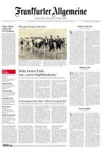 Frankfurter Allgemeine Zeitung - 4 März 2021
