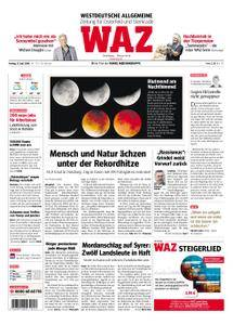 WAZ Westdeutsche Allgemeine Zeitung Oberhausen-Sterkrade - 27. Juli 2018