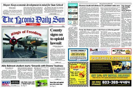 The Laconia Daily Sun – September 20, 2018