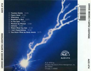 Lonnie Brooks - Bayou Lightning (1979)