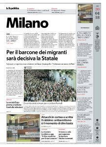 la Repubblica Milano - 30 Aprile 2018