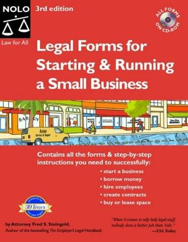 Legal Forms for Starting and Running a Small Business (Repost)