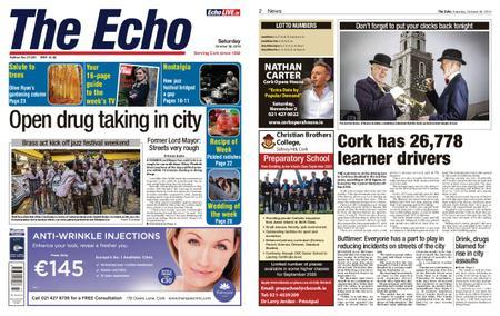 Evening Echo – October 26, 2019