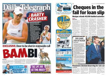 The Daily Telegraph (Sydney) – July 09, 2019