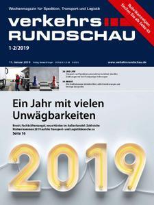 VerkehrsRundschau - 11. Januar 2019