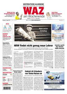 WAZ Westdeutsche Allgemeine Zeitung Oberhausen-Sterkrade - 26. August 2017