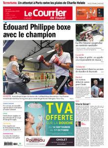 Le Courrier de l'Ouest Cholet – 26 septembre 2020