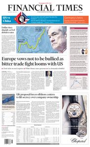 Financial Times – May 2, 2018