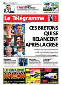 Le Télégramme Ouest Cornouaille – 30 mai 2020