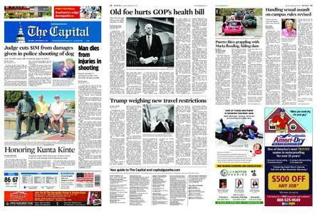 The Capital – September 23, 2017