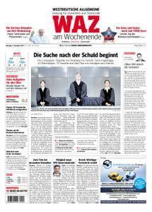 WAZ Westdeutsche Allgemeine Zeitung Oberhausen-Sterkrade - 09. Dezember 2017