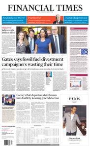 Financial Times UK – 18 September 2019
