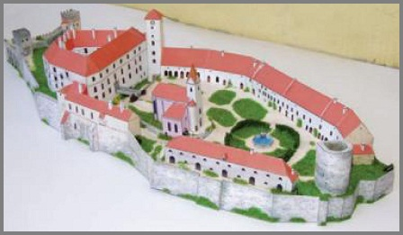 Detailed Architectural Paper Model (E4)