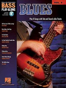 Blues: Play 8 songs with tab and sound-alike CD tracks (Bass Play-Along Series)