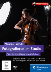 Fotografieren im Studio - Technik, Lichtführung, Live-Workshops