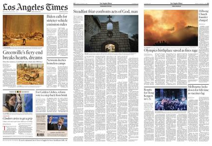Los Angeles Times – August 06, 2021