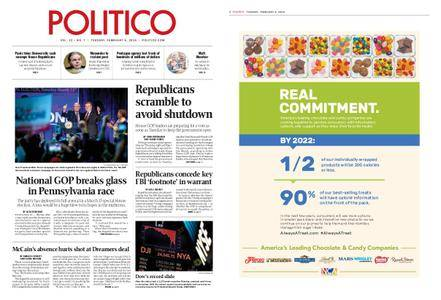 Politico – February 06, 2018