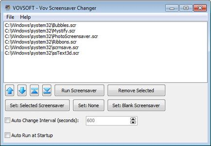 VovSoft VoV Screensaver Changer 1.7