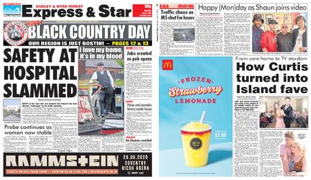 Express and Star Dudley and Wyre Forest Edition – July 13, 2019