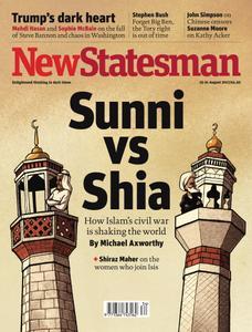 New Statesman - 25 - 31 August 2017