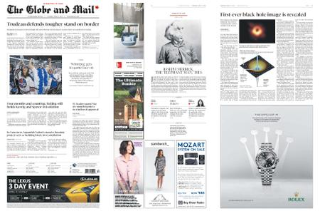 The Globe and Mail – April 11, 2019