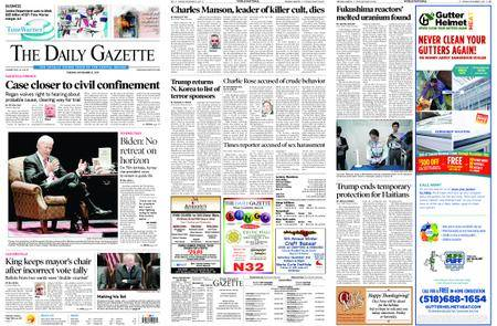 The Daily Gazette – November 21, 2017