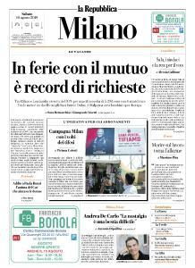 la Repubblica Milano - 10 Agosto 2019
