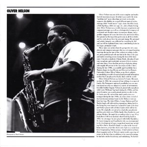 Oliver Nelson - The Argo, Verve and Impulse Big Band Studio Sessions (1962-67) {6CD Box Set Mosaic MD6-233 rel 2006}