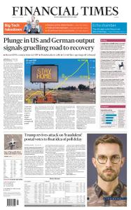 Financial Times Europe - July 31, 2020