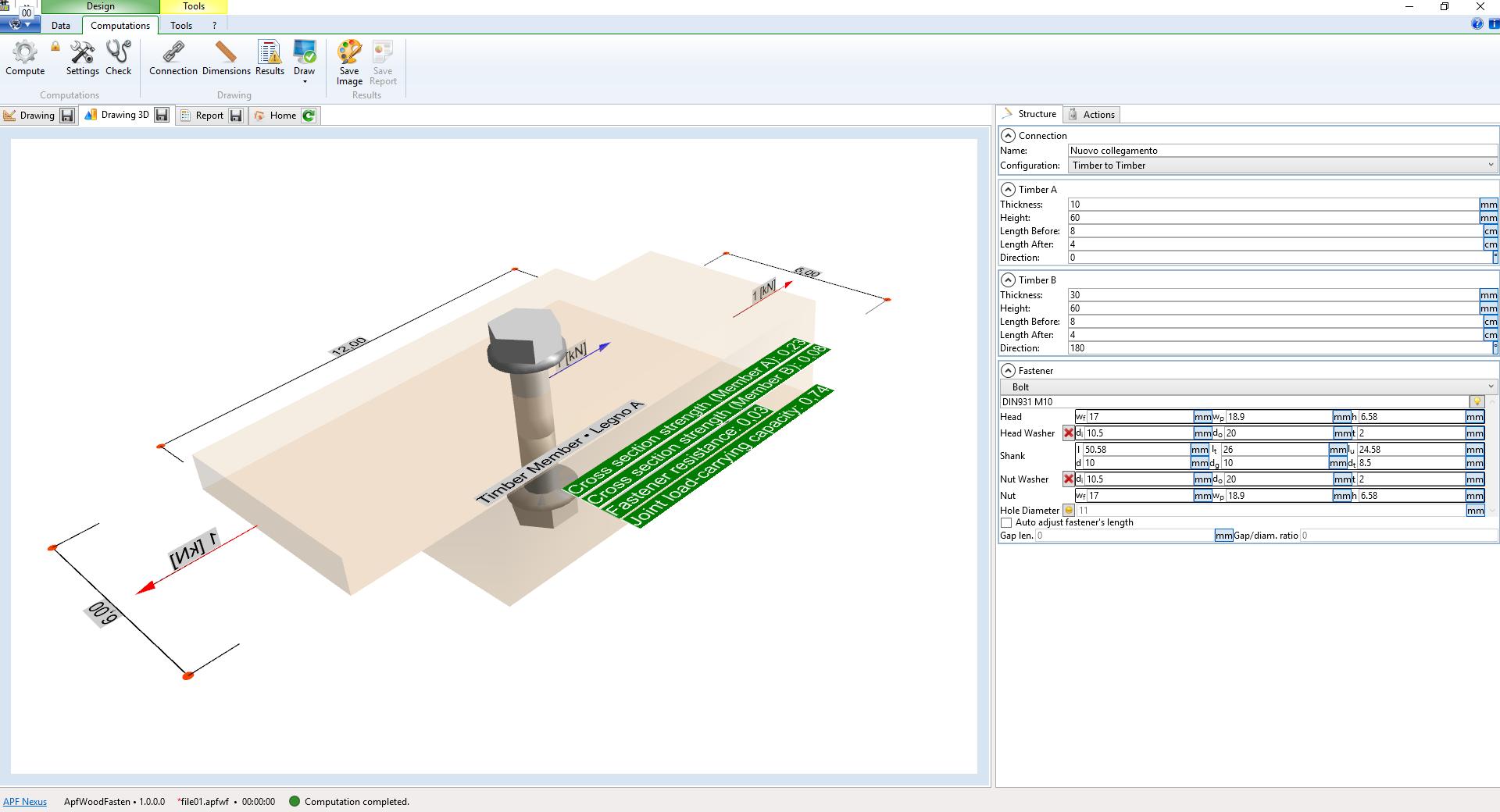 APF Nexus Engineering Software WoodTruss v3.3.0.0