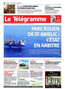 Le Télégramme Brest Abers Iroise – 14 septembre 2021