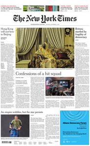 International New York Times - 02 September 2019